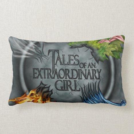 Tales of an Extraordinary Girl pillow