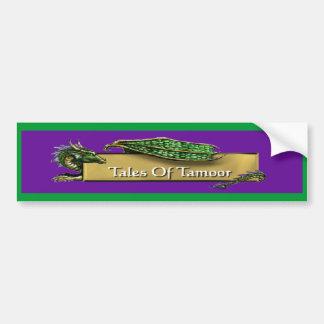 Tales of Tamoor Bumper Sticker Car Bumper Sticker