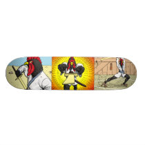 Tales of the Samurai Chicken Skateboard
