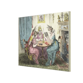 Tales of Wonder -dedicated to M.G. Lewis Esq' Gallery Wrapped Canvas