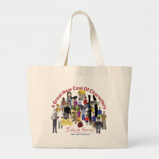 Tales & Stories Cast Of Characters Tote Bag