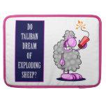 ¿Talibanes soñan con ovejas de estallido? Fundas Macbook Pro