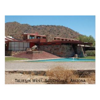 Taliesin West Postcard