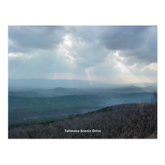 Talimena Scenic Drive Postcard