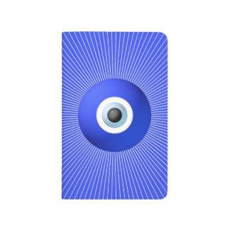 Talismán a proteger contra mal de ojo cuadernos grapados