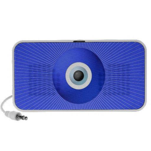Talismán a proteger contra mal de ojo iPod altavoces