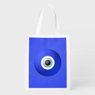 Talismán a proteger contra mal de ojo bolsas de la compra