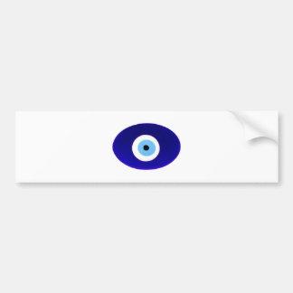Talismán del mal de ojo pegatina de parachoque