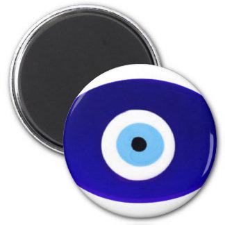 Talismán del mal de ojo imán redondo 5 cm