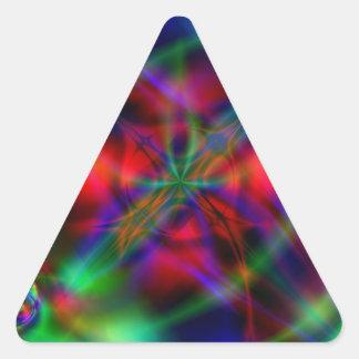 Talismán Pegatina Triangular