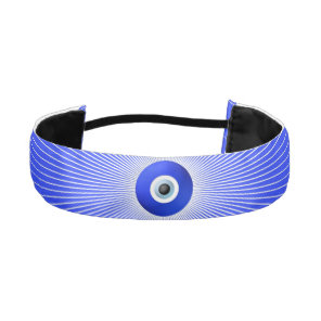 Talisman to Protect Against Evil Eye Athletic Headband