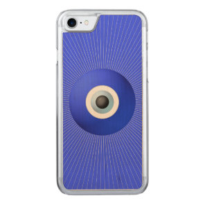Talisman to Protect Against Evil Eye Carved iPhone 7 Case