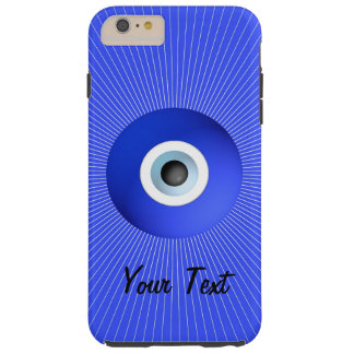 Talisman to Protect Against Evil Eye customizable Tough iPhone 6 Plus Case