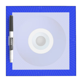 Talisman to Protect Against Evil Eye Dry Erase White Board