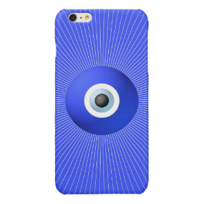 Talisman to Protect Against Evil Eye Glossy iPhone 6 Plus Case