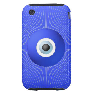 Talisman to Protect Against Evil Eye Tough iPhone 3 Case
