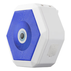 Talisman to Protect Against Evil Eye White Bluetooth Speaker