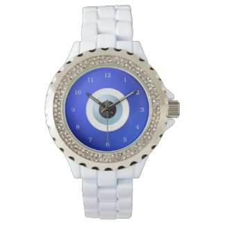 Talisman to Protect Against Evil Eye Wrist Watch
