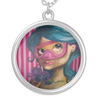 Talita by mari wonka silver plated necklace