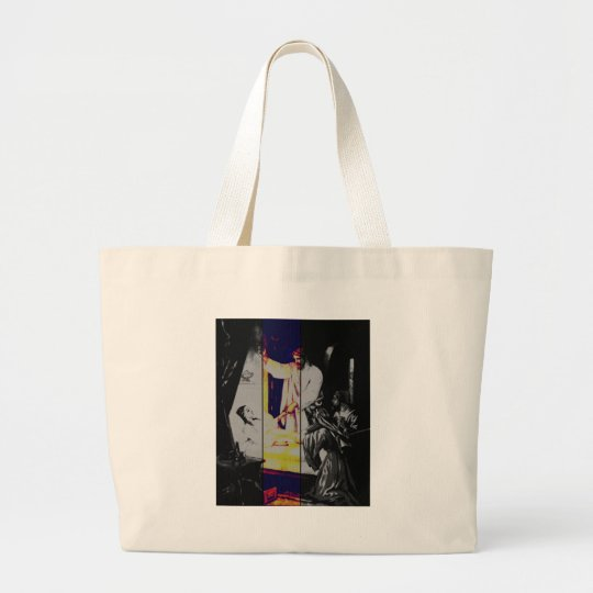 Talitha koum!  Mark 5-38:43 Large Tote Bag