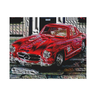 Talk 300 SL - digital Work - Jean Louis Glineur Canvas Print
