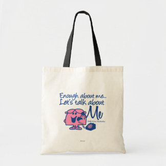 Talk About Little Miss Chatterbox Tote Bag