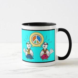 TALK ABOUT PEACE MUG