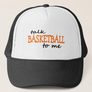 Talk Basketball To Me Trucker Hat
