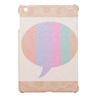 TALK Bubble :  Buy Blank or add Greeting Text Cover For The iPad Mini