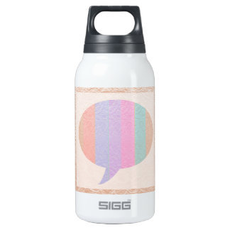 TALK Bubble :  Buy Blank or add Greeting Text Thermos Bottle