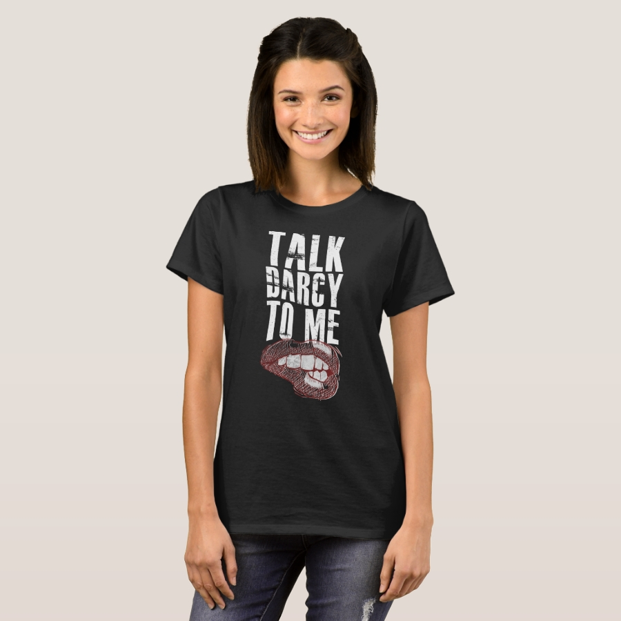 Talk darcy to me school book lovers reading tshirt - Best Selling Long-Sleeve Street Fashion Shirt Designs