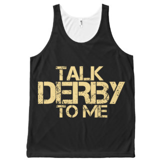 Talk derby to me All-Over-Print tank top