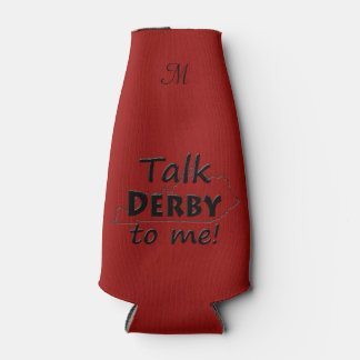 Talk Derby to me | Derby Horse Race Fan Bottle Cooler
