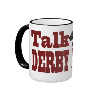 Talk Derby to Me Gifts & Novelties Ringer Coffee Mug