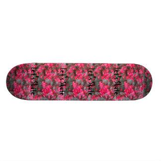 Talk Flowers Skateboard
