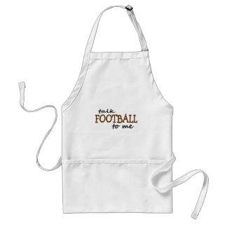 Talk Football To Me Adult Apron