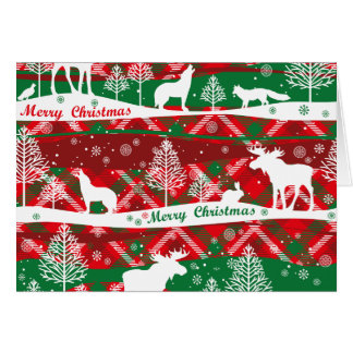 Talk Green Christmas Greeting Card