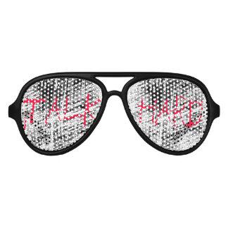 Talk Hard! Pump Up The Volume inspired sunglasses