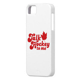 Talk Hockey To Me iPhone SE/5/5s Case