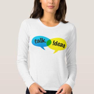 talk ideas tee shirt