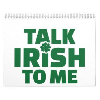 Talk Irish to me Wall Calendar
