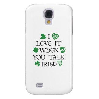 Talk Irish To Me Samsung Galaxy S4 Case