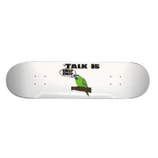 Talk Is Cheep Cheep Custom Skateboard