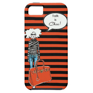 Talk is Chic iPhone Case iPhone 5 Case