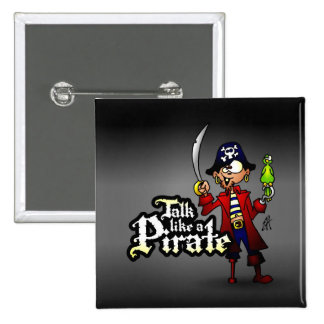 Talk like a Pirate Button