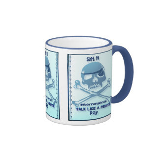 Talk Like A Pirate Crossbones Mugs
