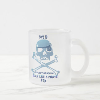 Talk Like A Pirate Crossbones Mugs