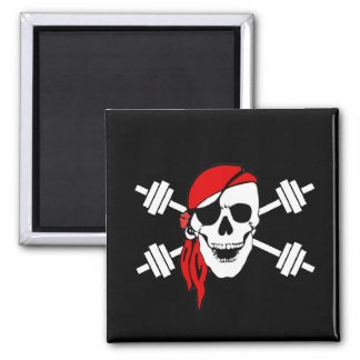 Talk Like A Pirate Day 2 Inch Square Magnet