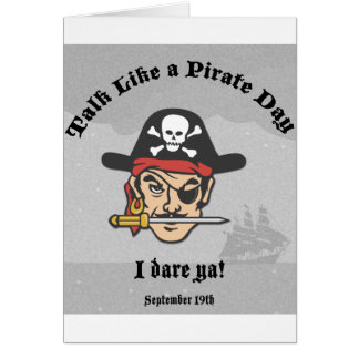 Talk like a Pirate Day! Greeting Cards