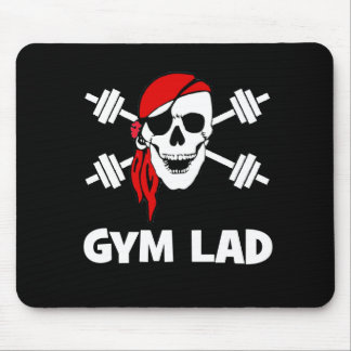 Talk Like A Pirate Day Gym Lad Mouse Pads